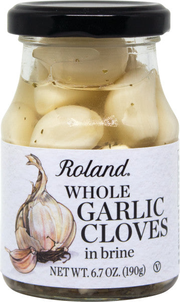 Roland Whole Clove Garlic in Brine 6.7 oz