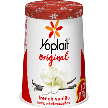 Yoplait Original French Vanilla 6oz
