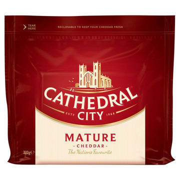 Cathedral City Mature Cheddar 200g