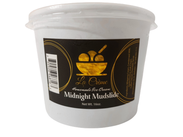 La Creme Midnight Mudslide Ice Cream 16oz