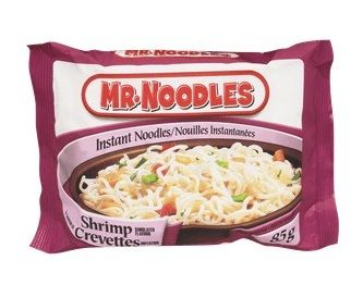 Mr.Noodles Instant Noodles Shrimp Flavour 3 oz
