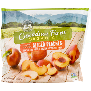 Cascadian Farm Sliced Peaches 10 oz