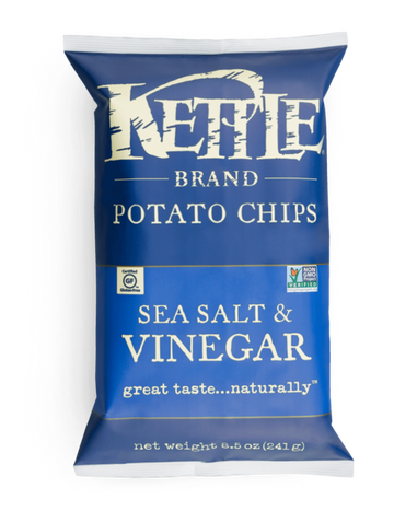 Kettle Brand Sea Salt & Vinegar Potato Chips 8.5oz