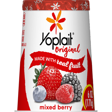 Yoplait Original Mixed Berry 6oz