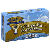 Dutch Farms Bar Lite Cream Cheese 8 oz.
