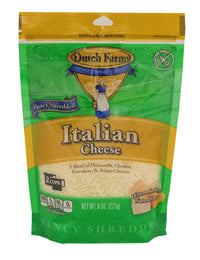 Dutch Farms Shredded Italian Cheese 8 oz.