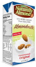 Naturally Almond Unsweetened Original 32oz