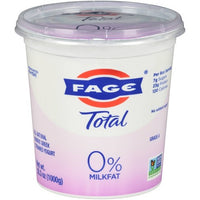 Total Fage Plain Yogurt 0% Milkfat 35.3oz