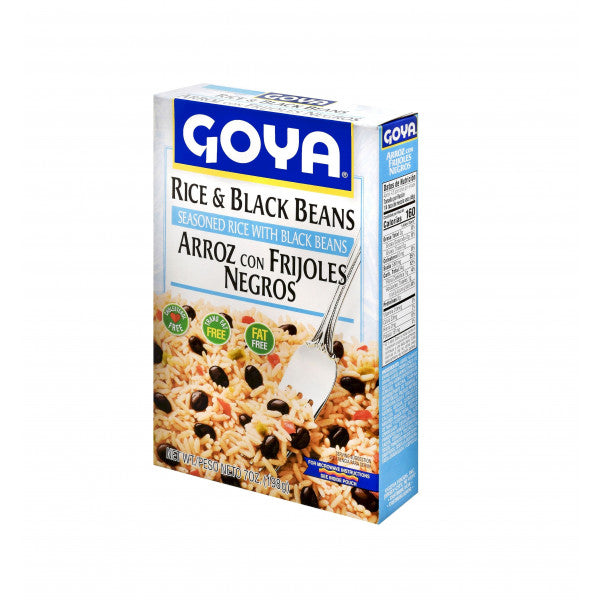 Goya Rice & Black Beans 7 oz