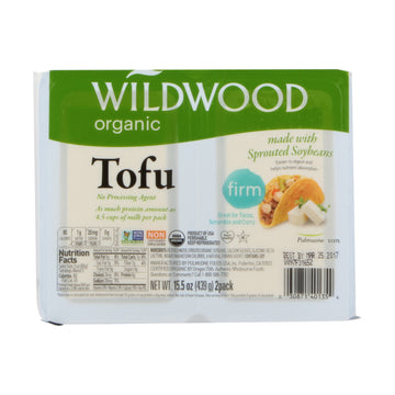 Wildwood Tofu Firm Sprouted