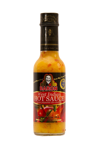 Baron West Indian Pepper Sauce 5.5 oz