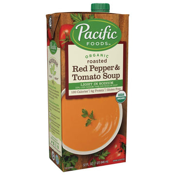 Pacific Foods Roasted Red Pepper & Tomato Bisque 17.6 oz