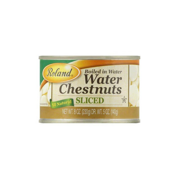 Roland Sliced Water Chestnuts 8 oz