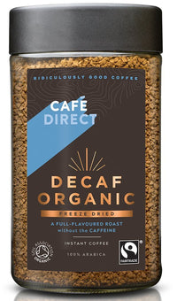 Cafe Direct Organic Freeze Dried Decaf 100g
