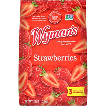Wyman's Frozen Strawberries 3 lbs.