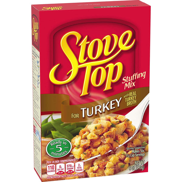 Stove Top Stuffing Mix for Turkey 6 oz.