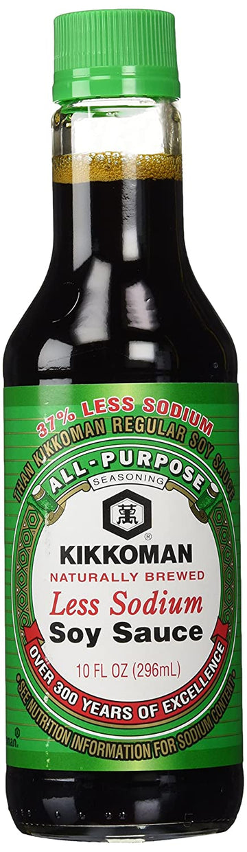 Kikkoman Less Sodium Soy Sauce 10oz