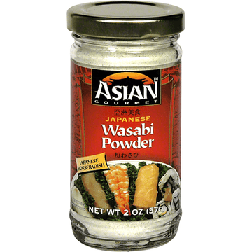 Asian Gourmet  Wasabi Powder 2 oz.