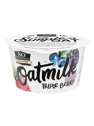 So Delicious Triple Berry Oatmilk Yogurt