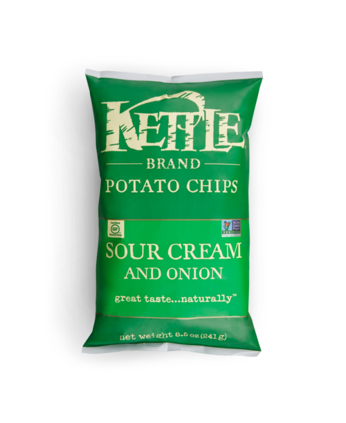Kettle Brand Sour Cream & Onion 8.5 oz