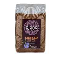 Biona Brown Organic Linseed 500g