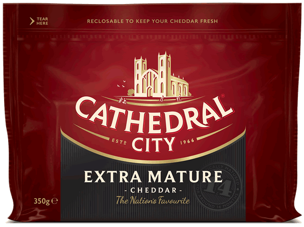 Cathedral City Extra Mature Cheddar 200g