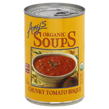 Amy's Chunky Tomato Bisque Soup
