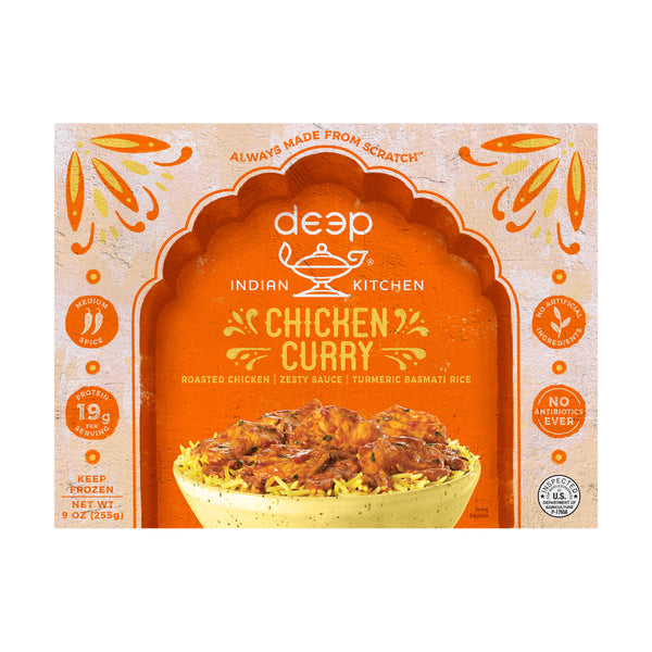 Deep Chicken Curry w/ Rice 9 oz