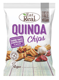 Eat Real Tomato & Garlic Chips 30g