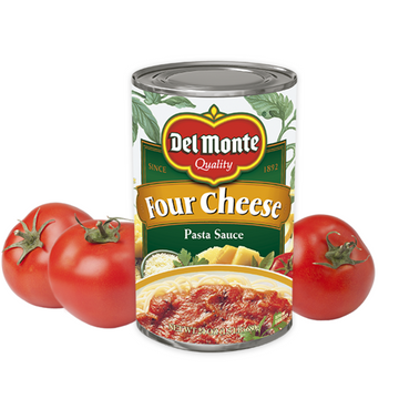 Delmonte Four Cheese Pasta Sauce  24 oz