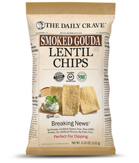 The Daily Crave Smoked Gouda Lentil Chip