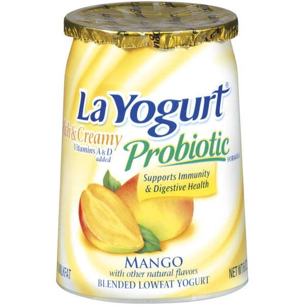 La Yogurt Mango 6 oz