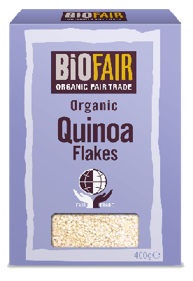 Biofair Organic Fair Trade Quinoa Flakes 400g