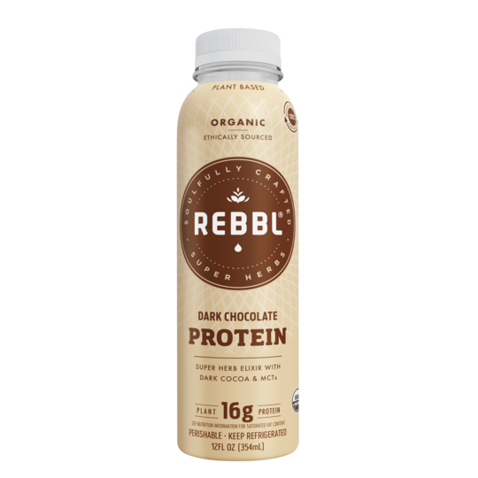 Rebbl Dark Chocolate Protein 12 fl.oz