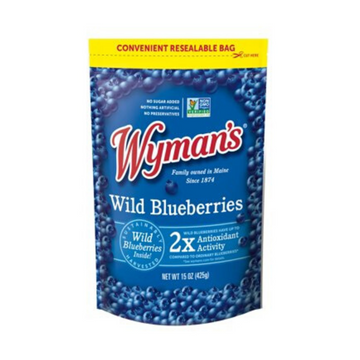 Wyman's Frozen Wild Blueberries 15oz
