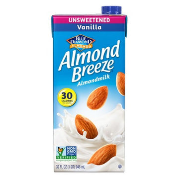 Almond Breeze Unsweetened Vanilla 32oz