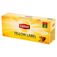 Lipton Yellow Label Tea Bags 25's