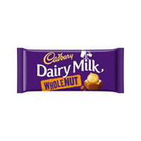 Cadbury Dairy Milk Whole Nut 200 g