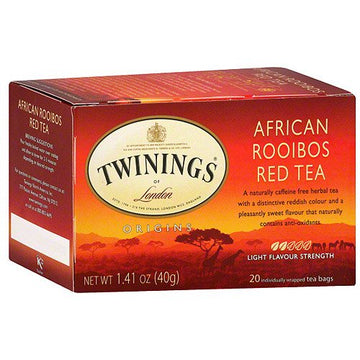 Twinings Red African Rooibos Tea 20 ct