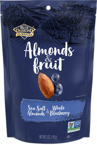 Blue Diamond Sea salt Almonds and Blueberry 142g