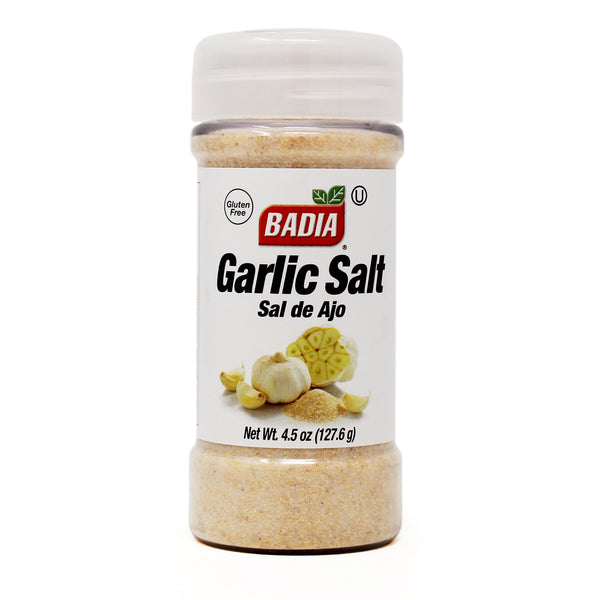 Badia Garlic Salt Seasoning 4.5 oz