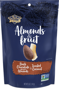 Blue Diamond Almonds, Dark Chocolate & Toasted Coconut 5oz