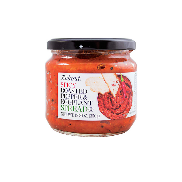 Roland Spicy Pepper and Eggplant Spread 12.3 oz