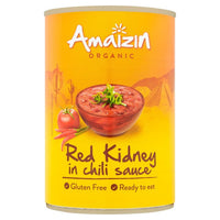 Amaizin Organic Red Kidney Beans in Chilli Sauce 400 g