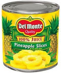 Del Monte Pineapple Slices 15 oz