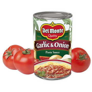 Delmonte Pasta Sauce Garlic & Onion 24 oz