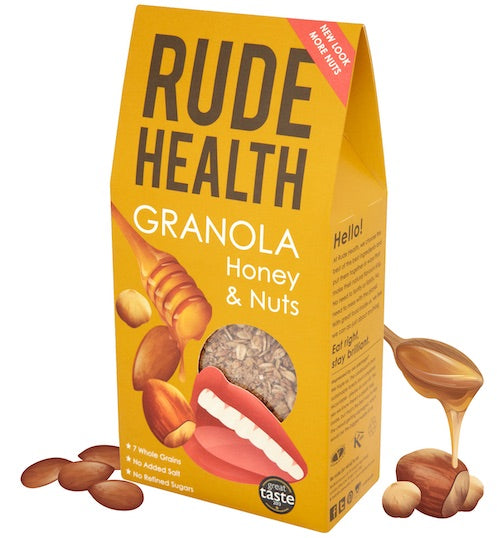 Rude Health Honey & Nut Granola