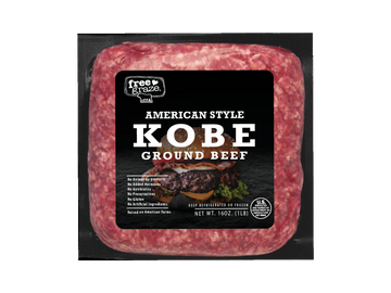 Free Graze KOBE Ground Beef 1lbs