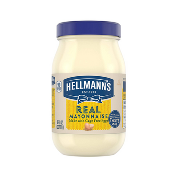 Hellmann's Real Mayonnaise 8oz