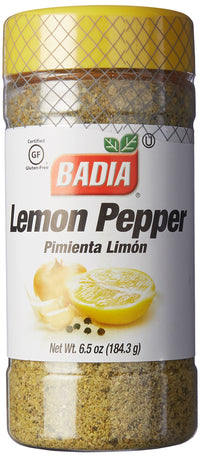 Badia Lemon Pepper Seasoning  6.5 oz